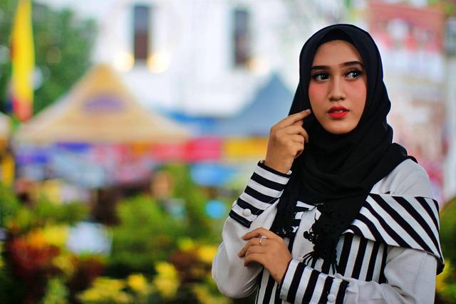 Jilbab Yang Cocok Untuk Wajah Bulat